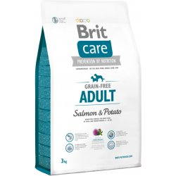 Brit Care Grain Free Adult Salmon & Potato 1 kg